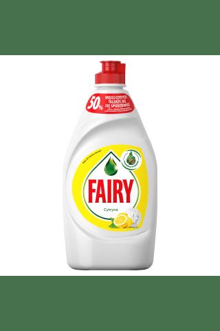 Trauku mazgāšanas līdzeklis fairy lemon 450 ml