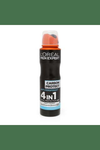 Vīriešu dezodorants Loreal Men Expert Carbon Protect 150ml