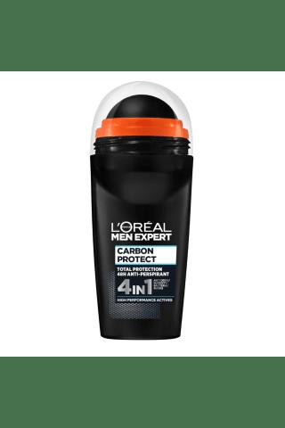 Dezodorants Loreal Men Expert Carbon Protect rullīts 50ml