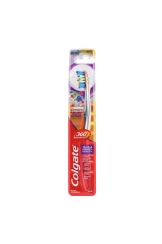 Zobu birste Colgate 360 Advanced Soft