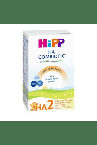 Pieno mišinys vaikams nuo 6 mėn. hipoalergeninis HIPP HA2 COMBIOTIC, 350g