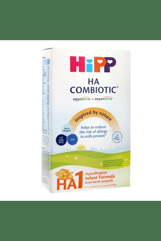 Pieno mišinys vaikams nuo gimimo hipoalergeninis HIPP HA1 COMBIOTIC, 350g
