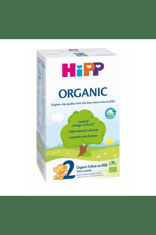 Ekologiškas tolesnio maitinimo pieno mišinys vaikams nuo 6mėn. HIPP, 300g