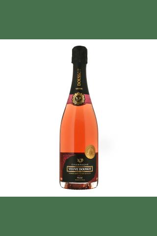 Šampanietis Veuve Doussot brut Rose sausais 12,5% 0,75l