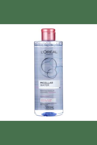 Micelārais ūdens loreal water soft ūdens jūtīgai ādai 400ml