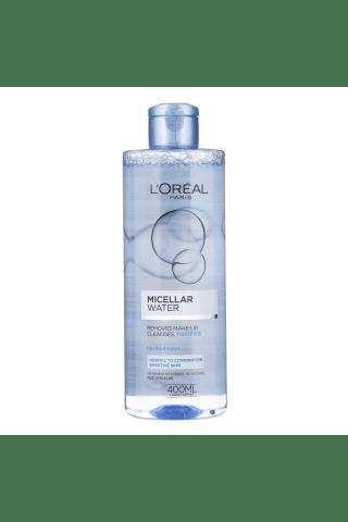 Micelārais ūdens loreal water fresh kombinētai ādai 400ml