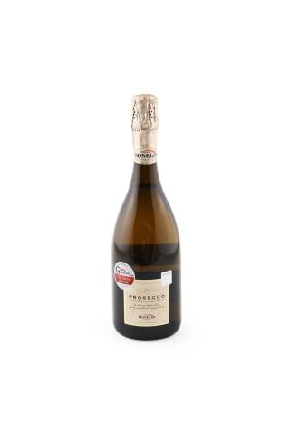 Dzirkstošais vīns Donelli Prosecco Spumante Brut  DOC Veneto sausais 11,5% 0,75l
