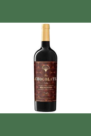 Sarkanvīns Chocolate tube primitivo puglia 14,5% 0,75l