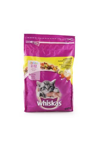 Sausā barība kaķēniem Whiskas ar vistu 950g