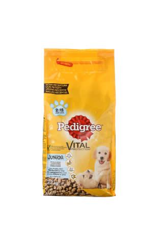 Sausā barība suņiem Pedigree ar vistu un rīsiem 2,2kg