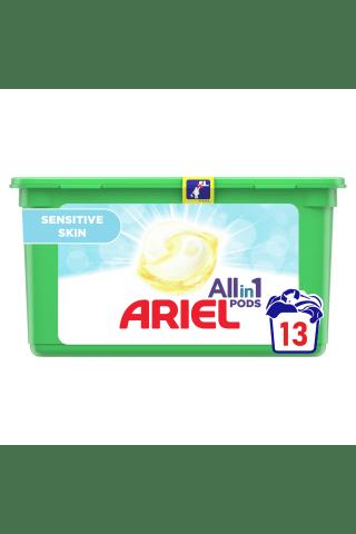 Veļas mazgāšanas kapsulas Ariel sensetive 14gab