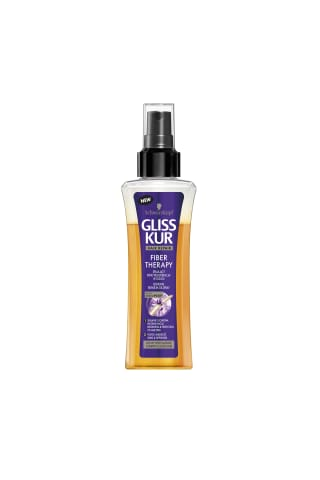 Sprejs/eļļa Gliss kur fiber theraphy atjaun.100ml