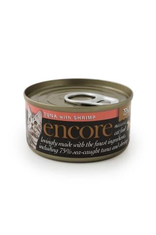 Kačių konservai su tunu ir krevetėmis ENCORE, 70 g