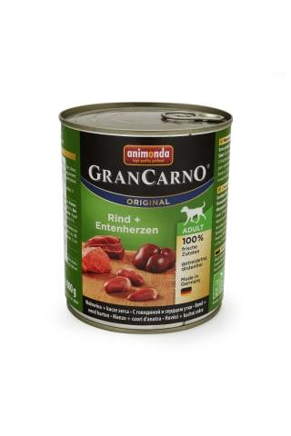 Konservs suņiem Gran carno ar tītaru un pīli 800g