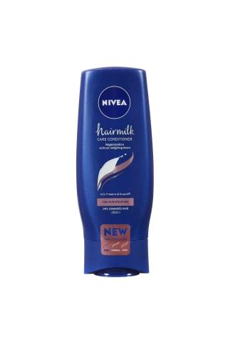 Kondicionierius ploniems plaukams NIVEA HAIRMILK, 200 ml