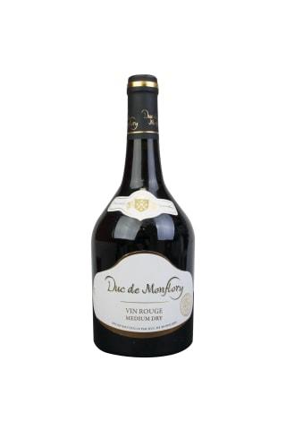 Sarkanvīns Duc de Montflory pussausais 11% 0,75l