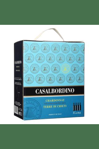 Baltvīns casalbordino chardonnay 12,5% 3l