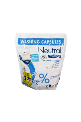 Veļas mazgāšanas kapsulas Neutral Active Clean 22gb