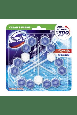 Tualetes bloks Domestos Trio Power 5 Ocean
