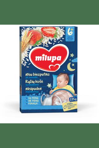 Rīsu biezputra Milupa ar zemenēm no 6 mēnešiem 225g