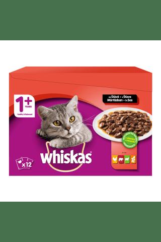 Konservi kaķiem Whiskas 12 paka 12x100g