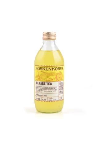 Alkoholiskais kokteilis Koskenkorva village tea 4.7% 0.33l