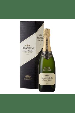 Dzirkstošais vīns Simonsig Kaapse Vonkel Brut 12% 0,75l