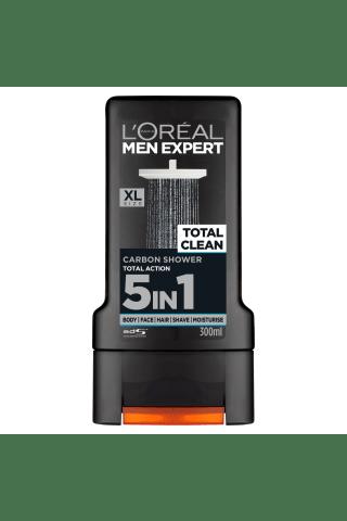 Dušo želė MEN EXPERT SHOWER TOTAL CLEAN, 300 ml