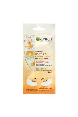 Lakštinė paakių kaukė su apelsinų sultimis ir hialurono rūgštimi GARNIER, 1 vnt