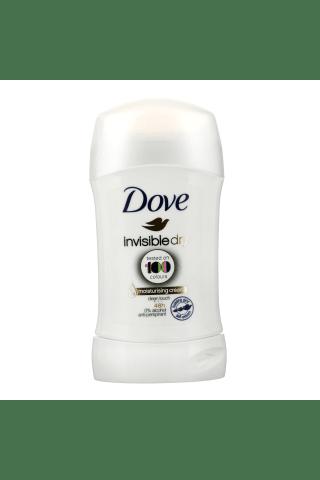 Pieštukinis moteriškas dezodorantas DOVE INVISIBLE DRY 100 COLOURS, 40 ml