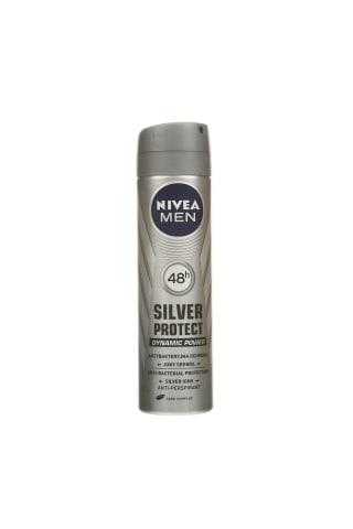 Izsmidzināms dezodorants Nivea silver protect vīriešiem 150ml