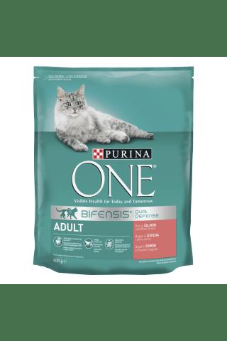 Kaķu barība Purina One laša un rīsu 800g