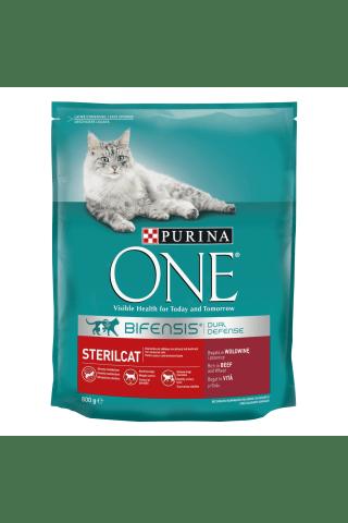 Sausas kačių ėdalas sterilizuotoms katėms ONE, 800 g