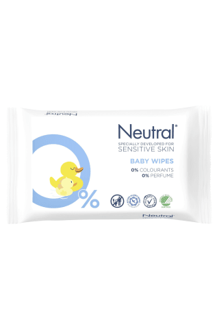 Mitrās salvetes Neutral Baby 63gb