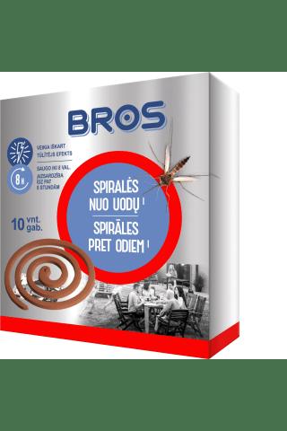Spiralės nuo uodų BROS, 10 vnt