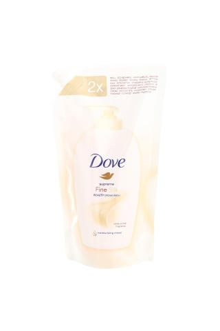 Skystas muilas DOVE CREAM SILK WASH, 0,5 l