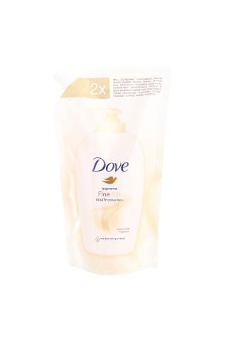 Šķidrās ziepes Dove silk 500ml