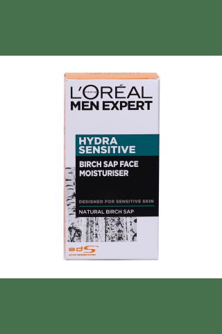 Drėkinantis veido kremas vyrams L'OREAL PARIS MEN EXPERT HYDRA SENSITIVE, 50 ml