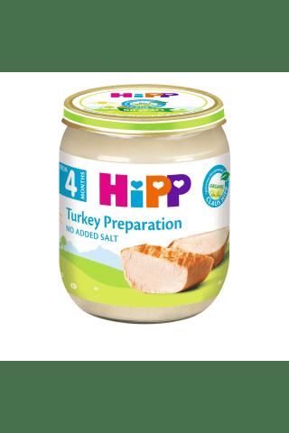 Biezenis Hipp bio ar tītara gaļu, no 4mēn., 125g