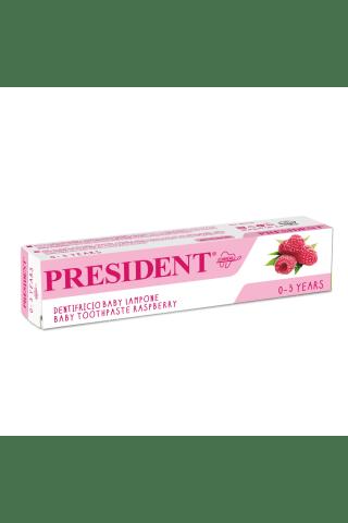 Zobu pasta President Baby 0-3 gadi 30ml