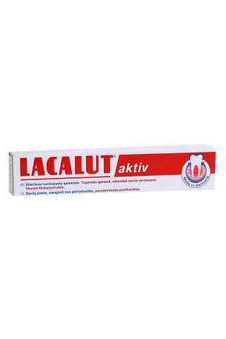 Zobu pasta Lacalut activ tikai pieaugušajiem 75ml