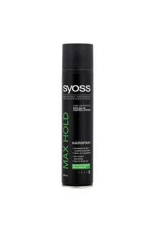 Plaukų lakas SYOSS MAX HOLD, 0,3 l