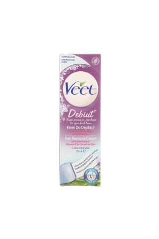 Depiliacinis kremas VEET CREAM DEBUT, 75 ml
