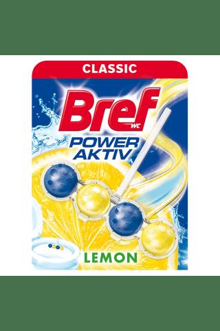 Tualeto gaiviklis BREF POWER AKTIV LEMON, 50 g