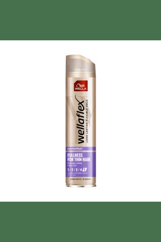 Plaukų lakas WELLAFLEX FULNESS, 250 ml