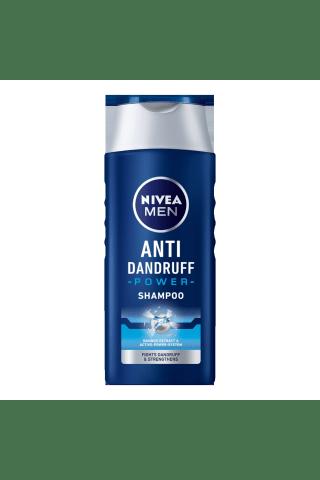 Plaukų šampūnas vyrams nuo pleiskanų NIVEA POWER, 0,25 l
