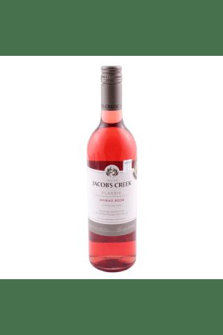 Rozā vīns Jacobs Creek shiraz sausais 11,8% 0,75l