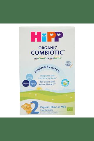 Ekologiškas tolesnio maitinimo pieno mišinys nuo 6 mėn.HiPP2 Combiotic,300g