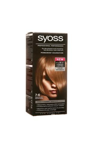 Matu krāsa Syoss color 7-6 vidēji blonds