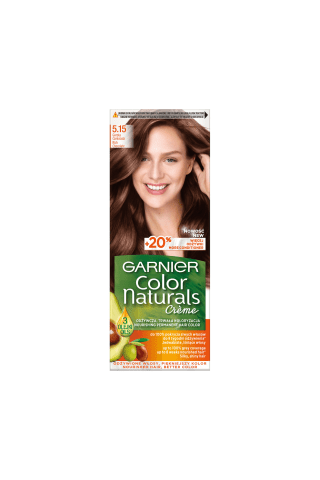 Matu krāsa Garnier color naturals 5.15
